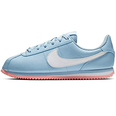 Nike Cortez Basic SL GS shoes white red blue