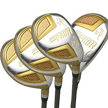 Japón Epron TRG híbridos Golf Club madera Set + Funda de ...
