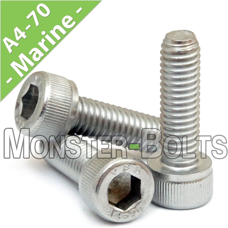 M5-0.8x20mm Socket M5x20 Allen Head Cap Screw Stainless 5mmx20mm M5x0.8x20 25
