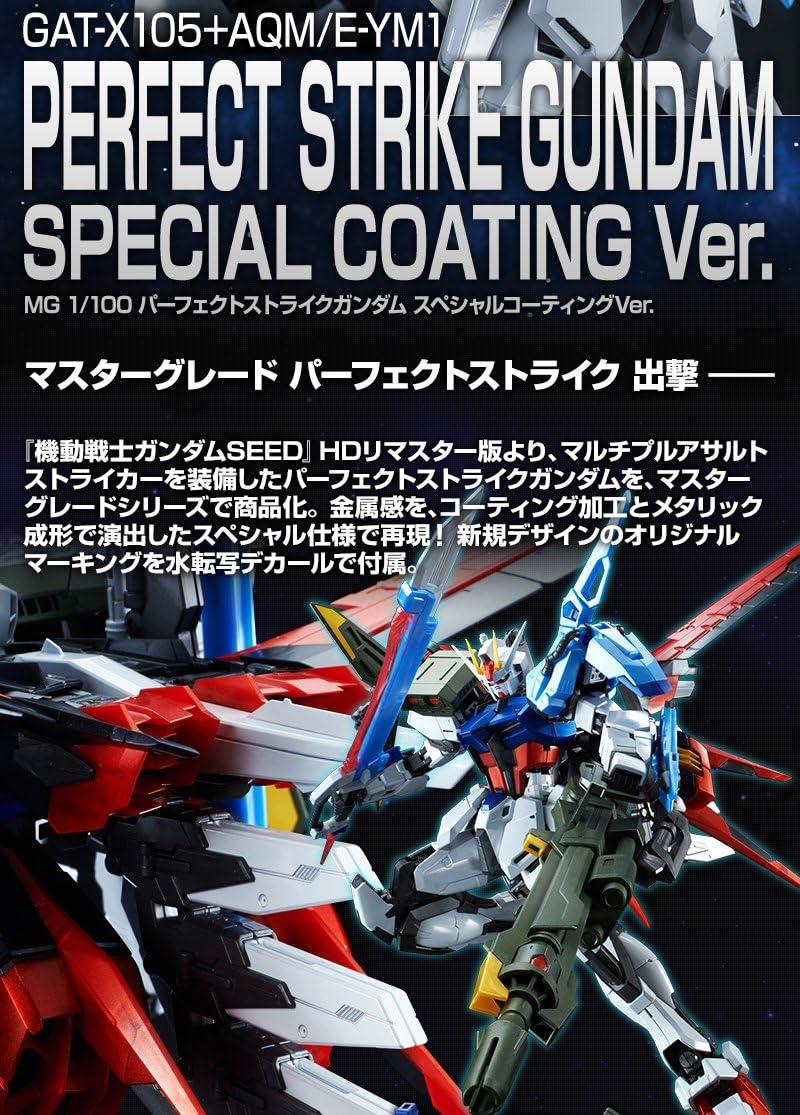 Plastic Kit Bandai MG 1//100 PERFECT Strike Gundam Special Coating Ver