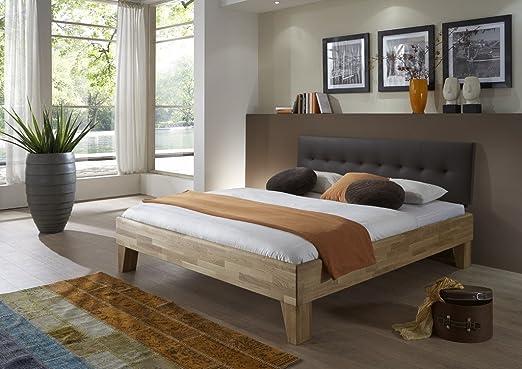Dreams4home Massivholzbett Nantes Massivholzbett Bett