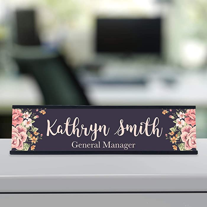 The Best Name Plate For Office Desk