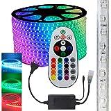 Fita LED RGB 5050 10m Premium Grossa Resistente C/Fonte