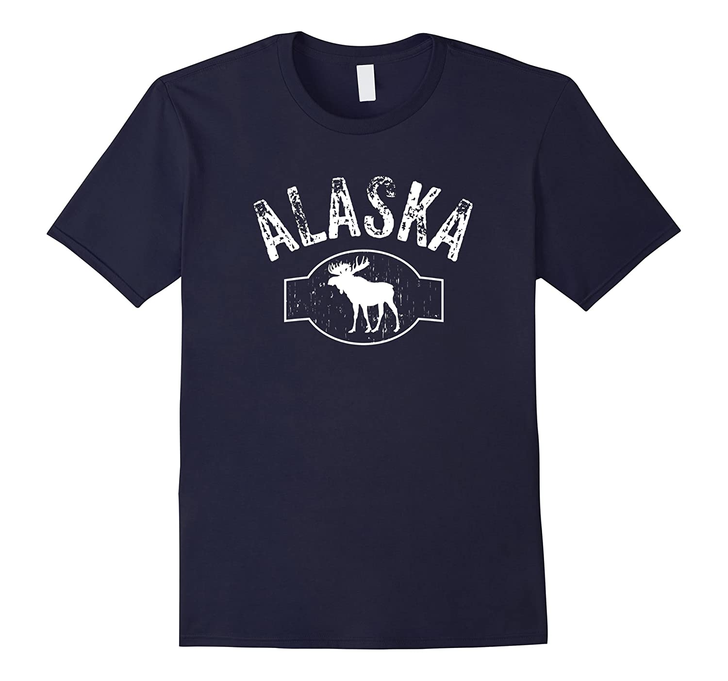 Alaska Moose Wildlife T-Shirt funny saying sarcastic tee-CD