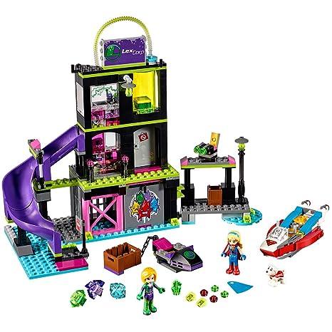 Amazoncom Lego Dc Super Hero Girls Lena Luthor Kryptomite Factory