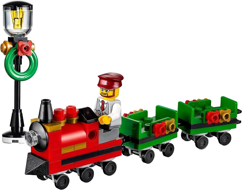 Amazon Com Lego Holiday Train Ride Minibuild With Train Ride