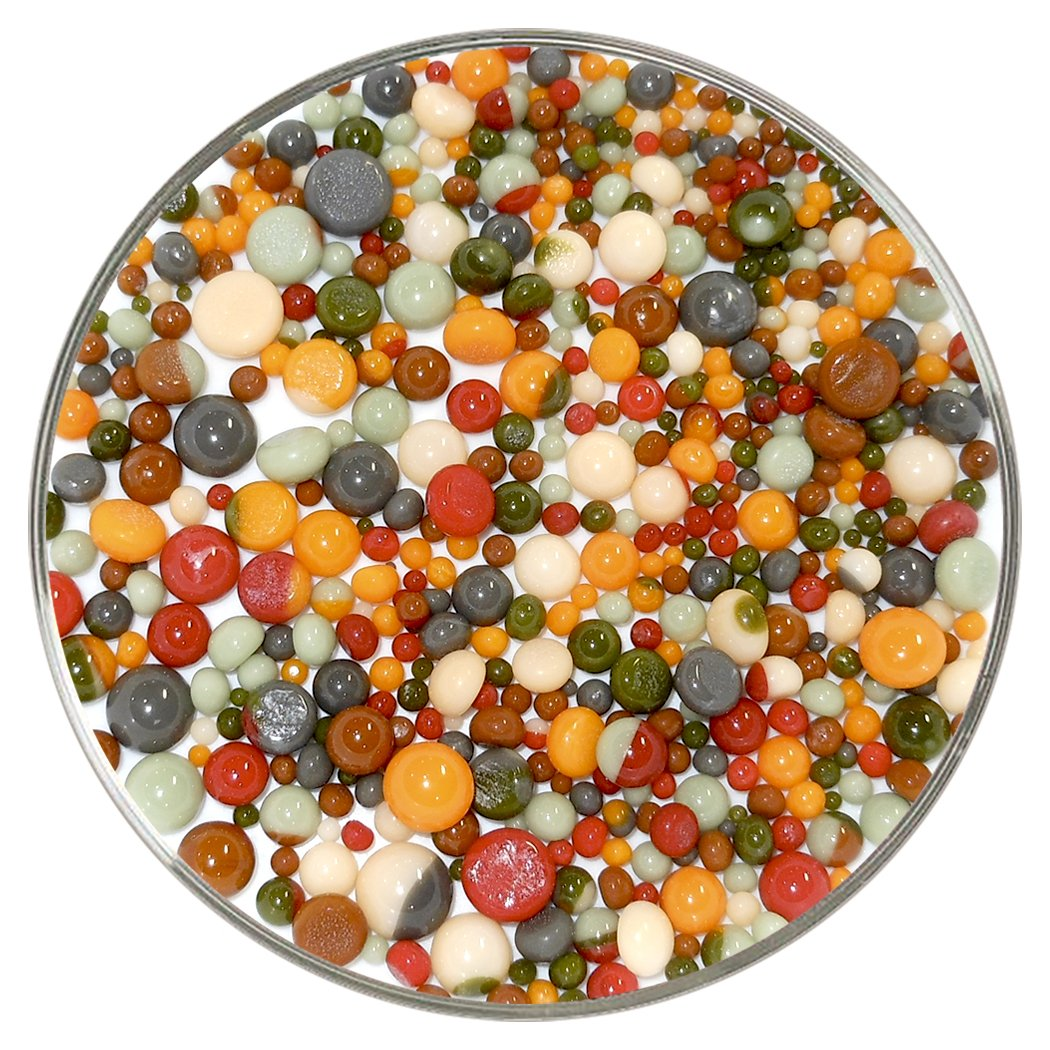 Apple Orchard Designer Collection Mix Frit Balls Made from System 96 Glass New Larger 1oz Size 96COE