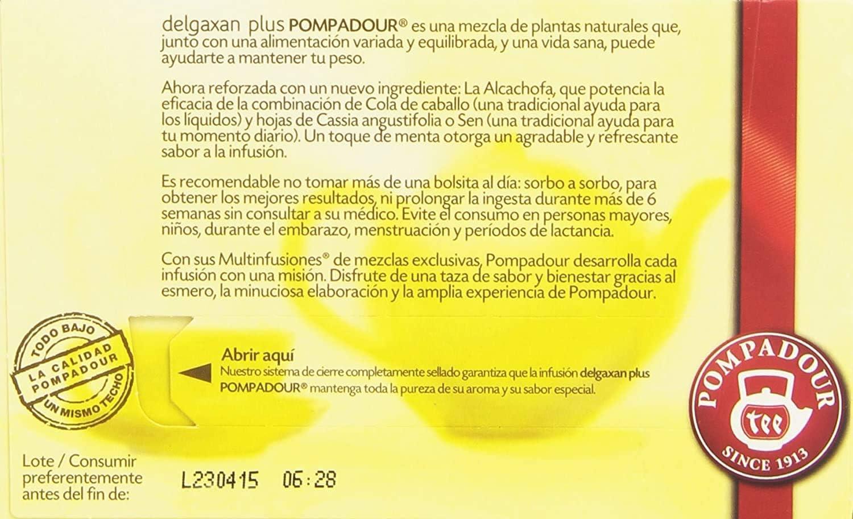 Delgaxan Con Alcachofa Pack de 5