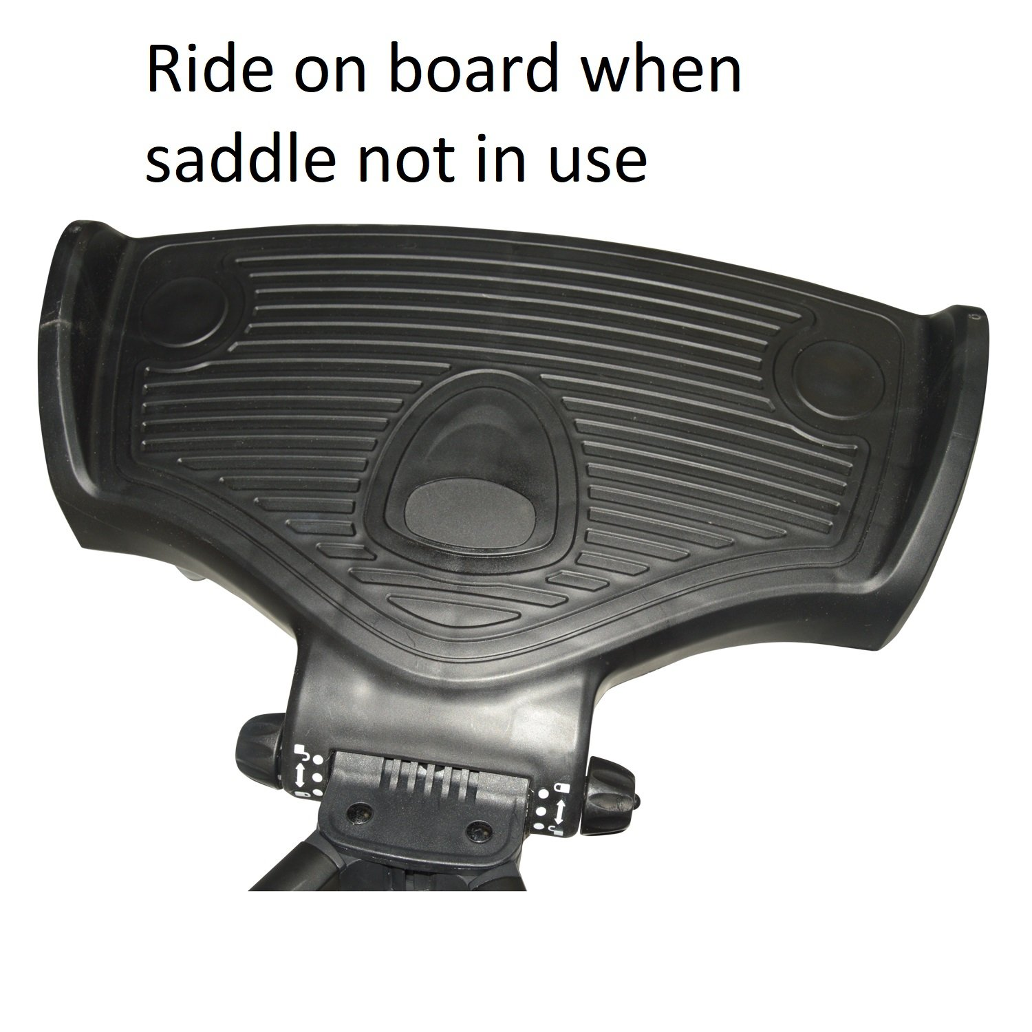 Ride On Board With Saddle Compatible With Mamas /& Papas Armadillo Flip XT Black