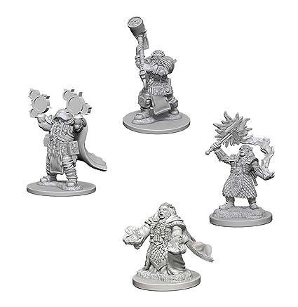 Dwarf Female Cleric Dungeons /& Dragons Nolzurs Marvelous Unpainted Minis