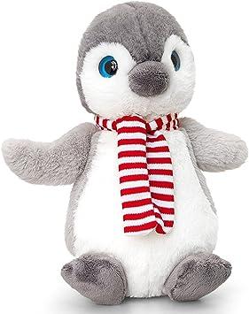Keel Toys 25cm Christmas Penguin Plush Soft Toy Gift