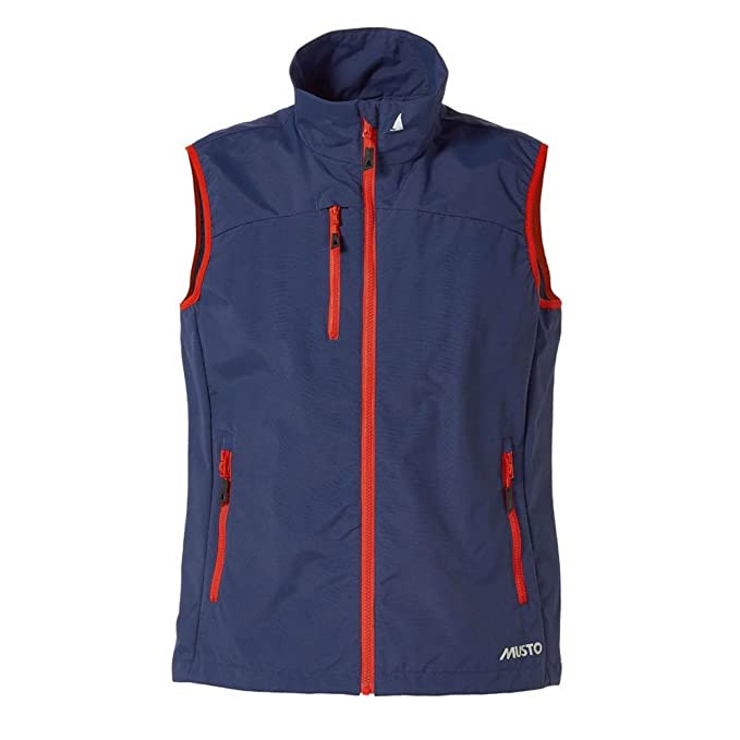 Musto Mens Sardinia BR1 Zip Up Waterproof Fleece Gilet