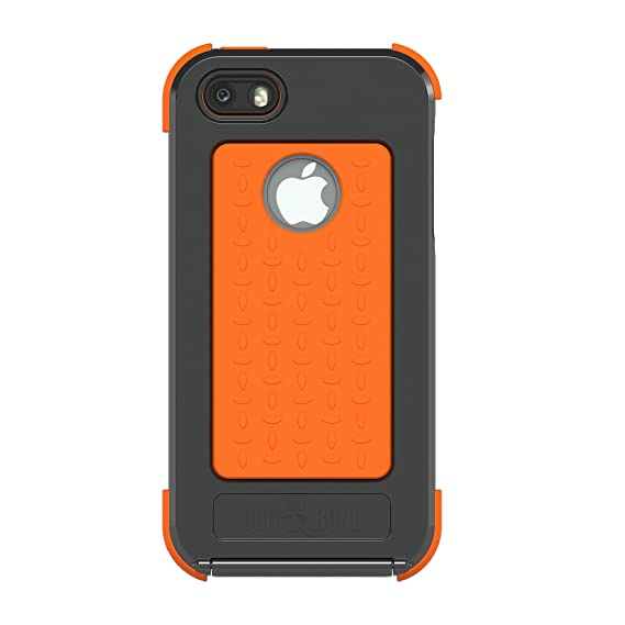new products 5c75f 1089c Dog & Bone Wetsuit Case for iPhone 5/5s - Retail Packaging - Black/Orange