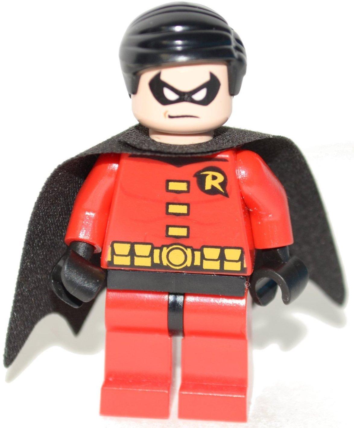 amazon com lego dc comics super heroes batman minifigure robin
