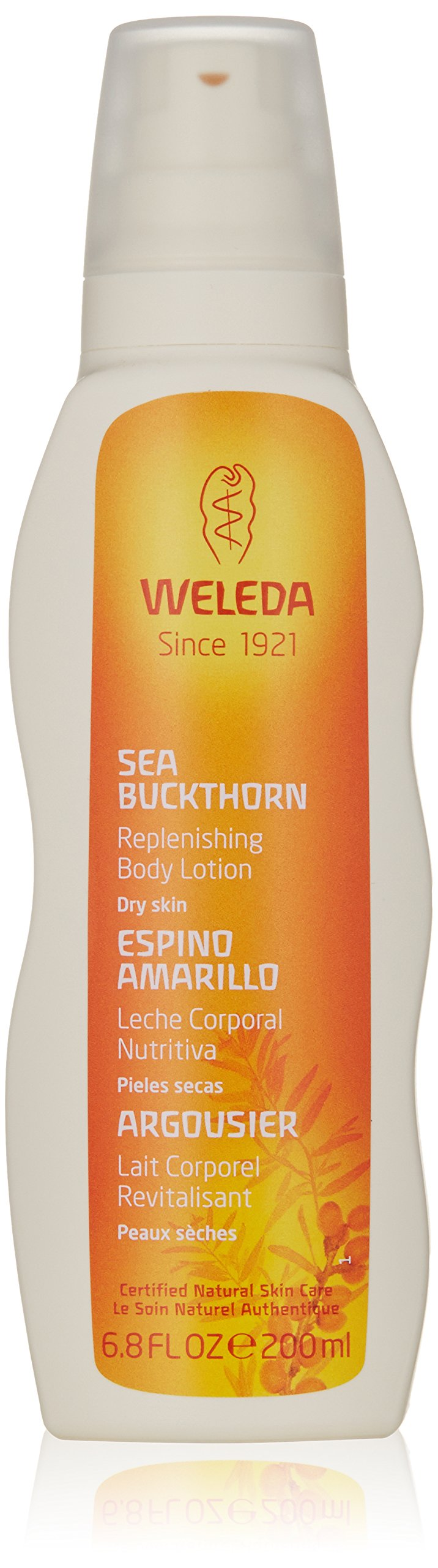 Weleda Replenishing Body Lotion, Sea Buckthorn, 6.8 Fluid Ounce