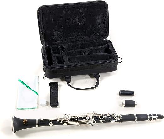 Roy Benson RB700455 - Clarinete, estuche ligero rectangular: Amazon.es: Instrumentos musicales