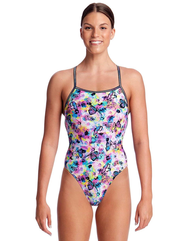Schwimmanzug Damen Funkita Badeanzug Water Garden