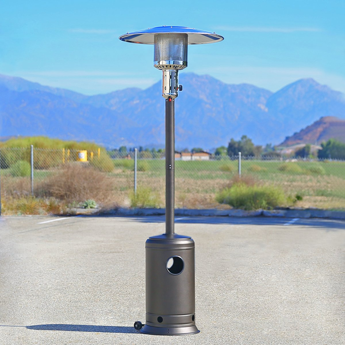 Perfect Amazon.com : XtremepowerUS 48, 000 BTU Premium Floor Standing Propane  Outdoor Patio Heater (Mocha) : Garden U0026 Outdoor