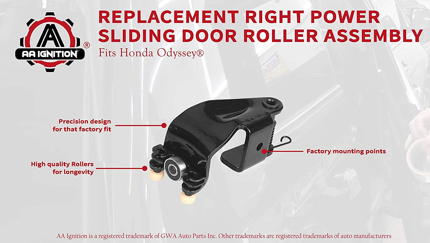 Honda Odyssey Door Roller Replacement Topsimages