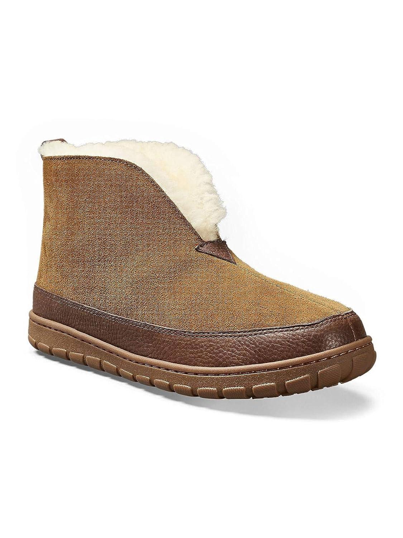 ed31df2c3a8 Amazon.com  Eddie Bauer Mens Shearling Boot Slipper  Clothing
