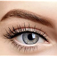 Soft Eye - Light Grey Color Monthly Contact Lens with case solution