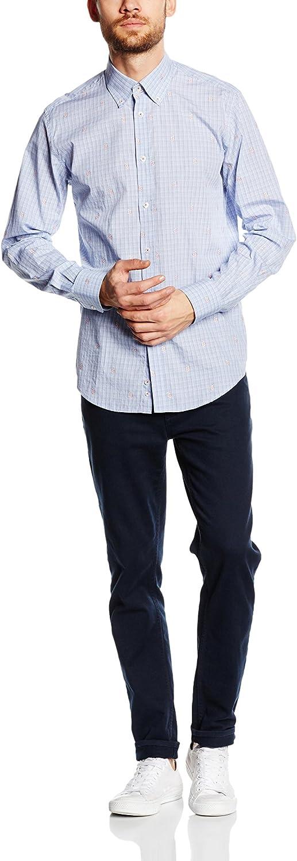 Caramelo Camisa Hombre Azul 3XL: Amazon.es: Ropa y accesorios