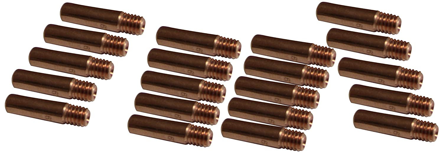 Pack of 25 Metal Man M113525 Contact Tips 11-35 Copper
