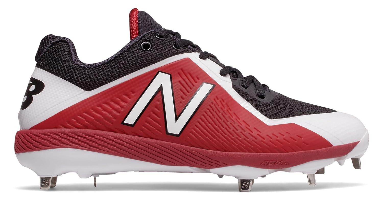 (ニューバランス) New Balance 靴シューズ メンズ野球 4040v4 Black with Red ブラック レッド US 12.5 (30.5cm) B074B6GLVM