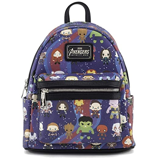 41573659e3 Amazon.com  Loungefly X Marvel Avengers Kawaii Mini Backpack  Toys ...