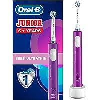 Oral B Junior Oplaadbare Elektrische Tandenborstel Voor Kinderen Van 6 Jaar En Ouder, Lila