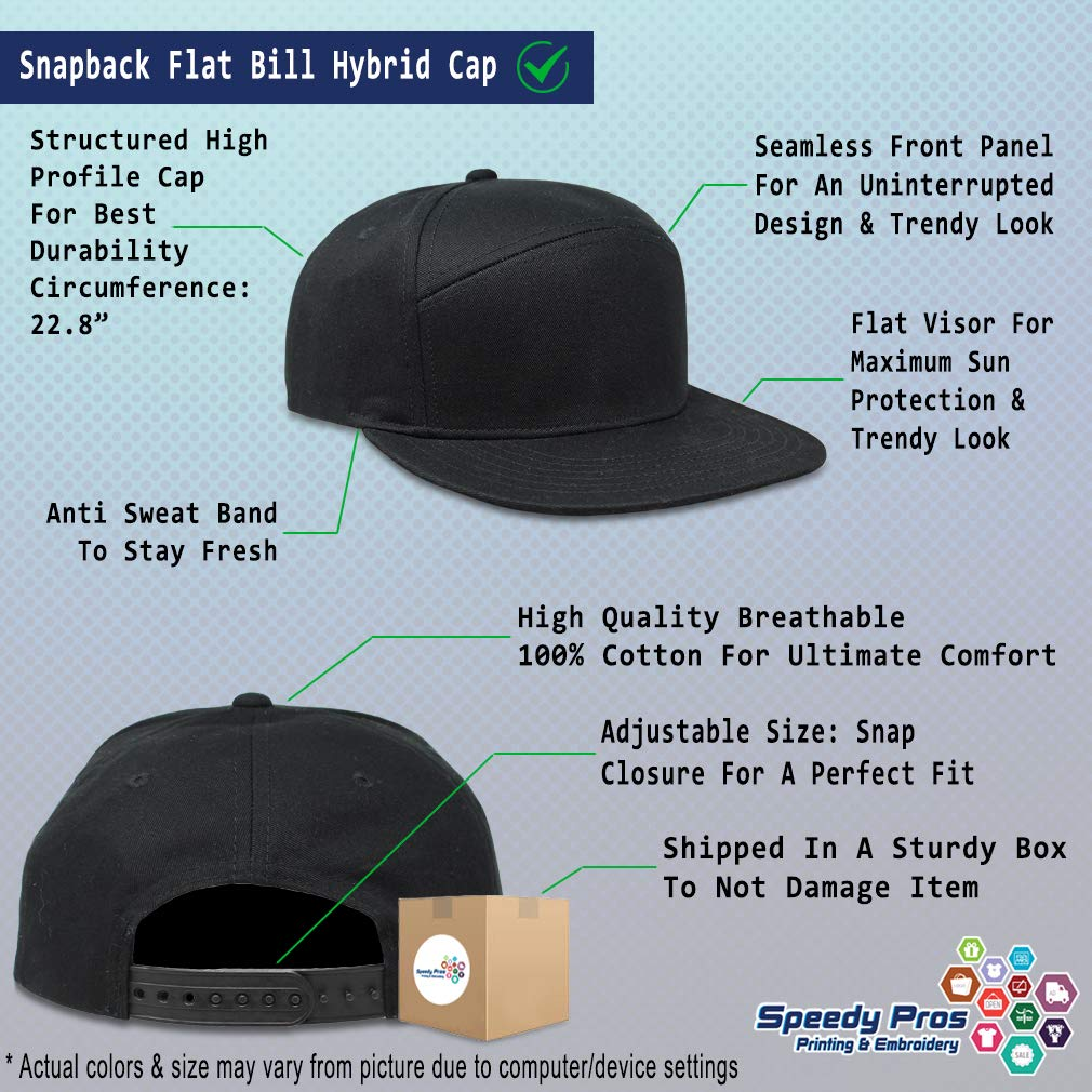Custom Snapback Hats for Men /& Women Cat Mom and Cat Silhouette A Embroidery