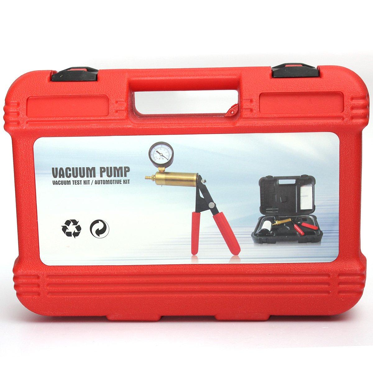 VORCOOL Car Auto Manual Handheld Vacuum Pump Brake Bleeder Professional Repair Tester Kit by VORCOOL (Image #6)