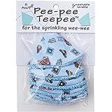 Pee-Pee Teepee Firedog Blue - Cello Bag