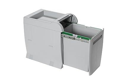 Juego de 3/cubos ecol/ógicos de 28 l para reciclaje EC28 IRPot