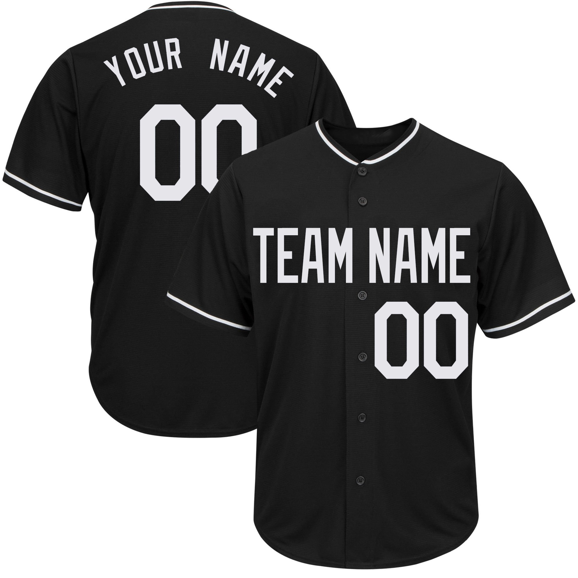 DEHUI Customized Women's Black Mesh Baseball Jersey with Stitched Player Team Name and Your Numbers,White Size M by DEHUI