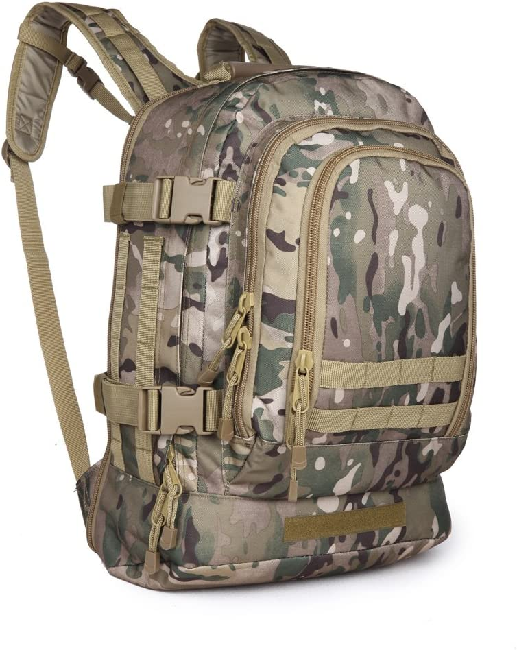 Kiwicomp Military Rucksack Tactical Backpack Sports Outdoor Hunting Fishing Personal Defense