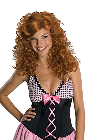 Secret Wishes Costume Rockabilly Wig Red One Size  sc 1 st  Amazon.com & Amazon.com: Secret Wishes Costume Rockabilly Wig Red One Size ...