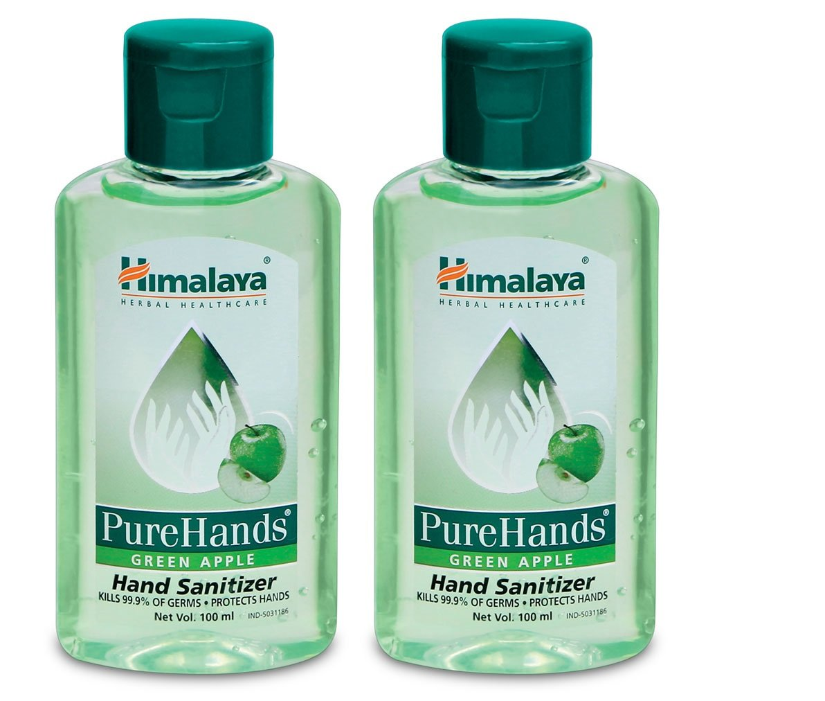 Buy Himalaya Hand Sanitizer Pack Of 2 Green Apple Online At Low