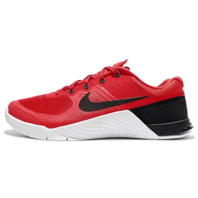 Nike Metcon 2 Action Red/Black/White Men's Cross Training Shoes