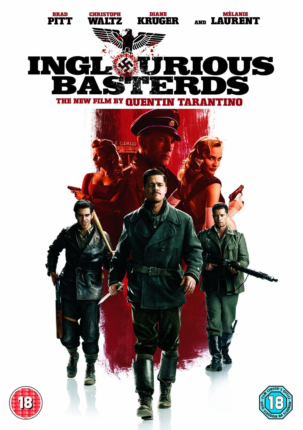 inglourious basterds dvd amazon co uk brad pitt inglourious basterds dvd 2009 amazon co uk brad pitt christoph waltz michael fassbender melanie laurent eli roth mike myers diane kruger