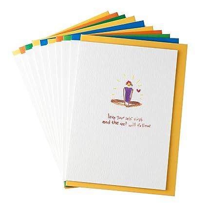 Yoga tarjetas de felicitación de gayacards, Multipack, pack ...