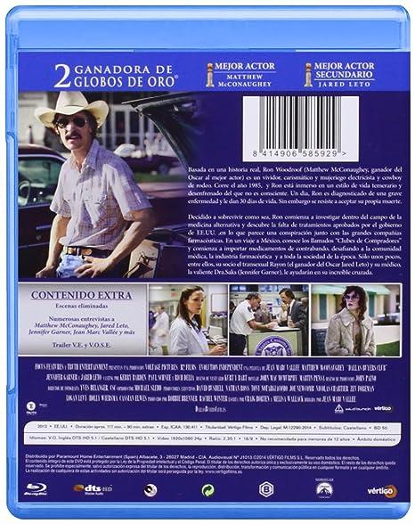 Dallas Buyers Club [Blu-ray]: Amazon.es: Matthew Mcconaughey ...