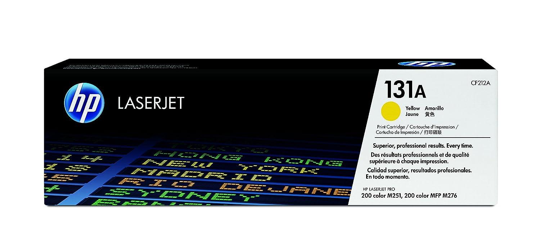 HP 131A (CF212A) Toner Cartridge, Yellow
