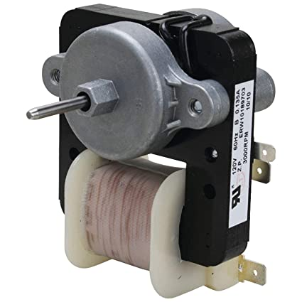amazon com: lifetime appliance w10189703 evaporator fan motor for whirlpool  refrigerator: home improvement