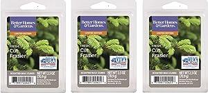Better Homes & Gardens Frasier Fir Scented Wax Cubes ● 2.5 oz Each ● 3 Pack