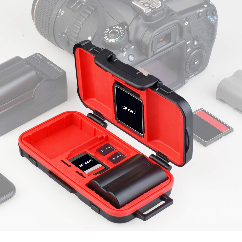 Amazon.com: Funda para cámara de fotos y tarjeta de memoria ...