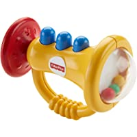 Fisher-Price Trumpet Rattle, Multi Color
