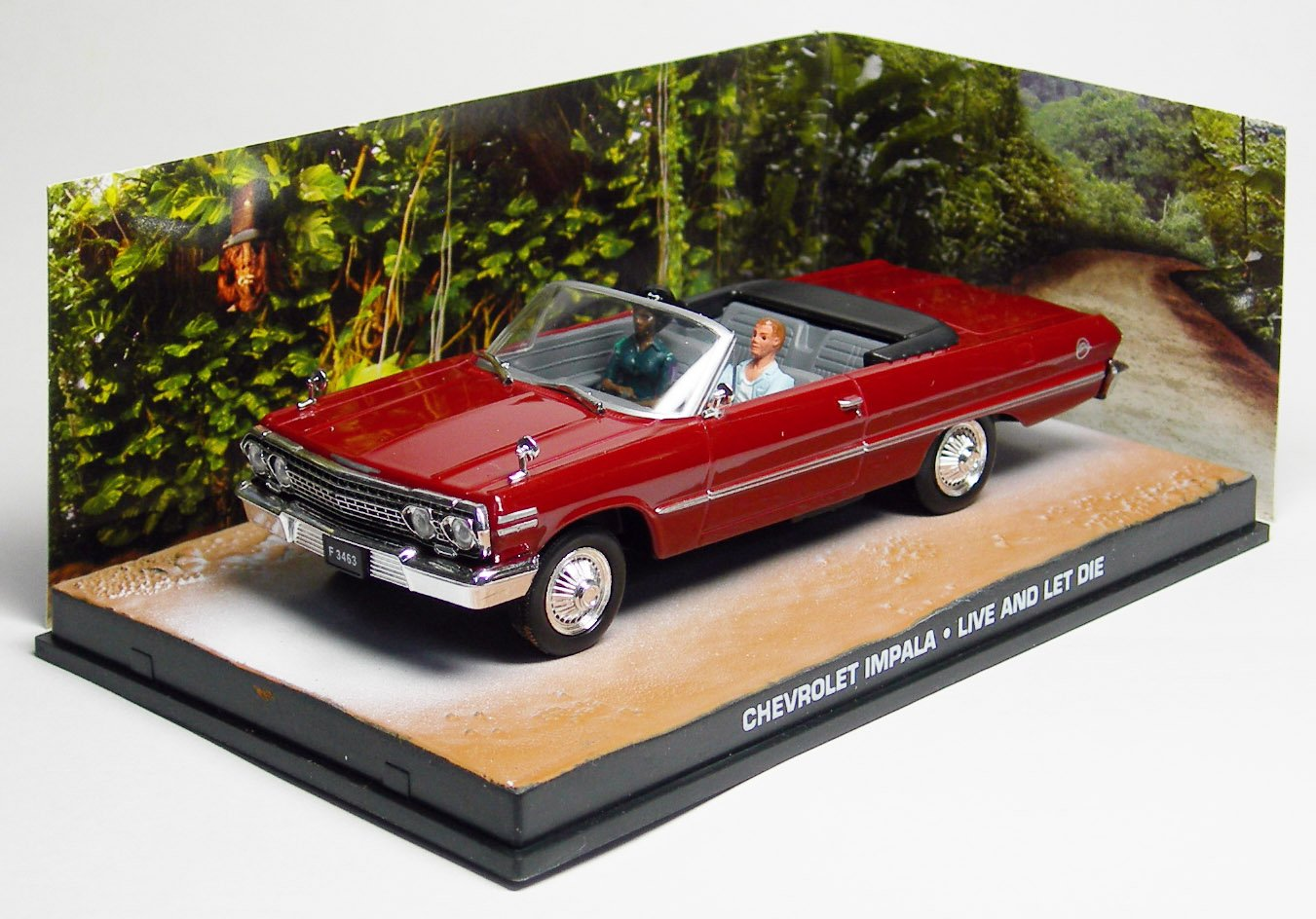 007 James Bond Car Collection #54 Chevrolet Impala convertible Live and let die