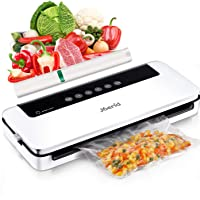 Upgraded Vacuum Sealer Machine,Joerid Vacuum Sealer for Food Save, Automatic Vacuum Air Sealing System with Dry&Moist…