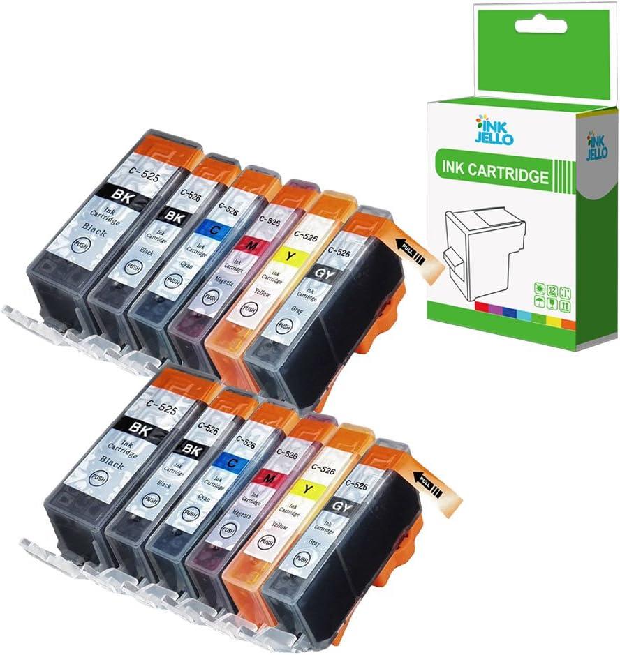 InkJello - Cartucho de tinta de repuesto para Canon Pixma MG6150 ...
